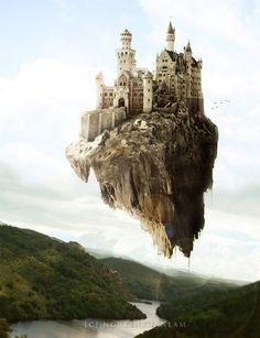 Flying Castle by nxlam1801 on deviantART