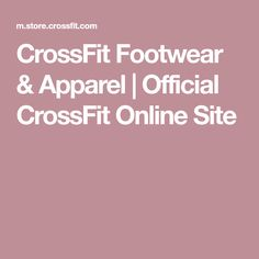 CrossFit Footwear & Apparel | Official CrossFit Online Site