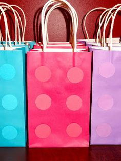 Lego Friends Birthday Party - Goody Bags