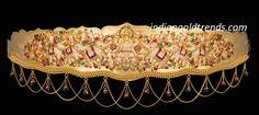 Latest Indian Gold and Diamond Jewellery Designs: Lakshmi devi Vaddanam