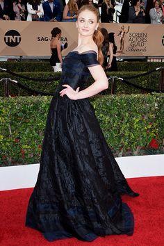 Sophie Turner. Screen Actors Guild Awards. 2016