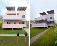New Frank Gehry Homes With Brad Pitt in NOLA's Ninth Ward