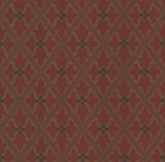 This gold and red wallpaper has a repeated diamond design to create a dramatic gothic feature wall. Browse our luxury wallpaper and order free samples online. Gold Wallpaper Pattern, Red And Gold Wallpaper, Gothic Wallpaper, Luxury Wallpaper, Fabric Wallpaper, Designer Wallpaper, Little Greene, Flowers