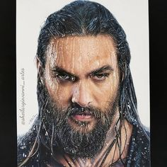 Realistic Pencils Drawings by Brazil based Artist Sheila R Giovanni. Jason Momoa, Portrait Sketches, Pencil Portrait, Drawing Sketches, Colorful Drawings, Easy Drawings, Jason Drawing, Realistic Pencil Drawings, Caran D'ache