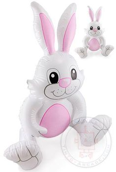 Easter Bunny Inflatable 26 inch