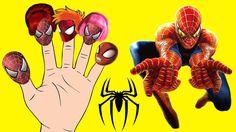 Finger Family Spiderman Compilation - Nursery Rhymes for Kids Kids Nursery Rhymes, Rhymes For Kids, Finger Family, Spiderman, Disney Characters, Fictional Characters, Animation, Rhymes For Children, Spider Man