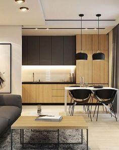 Scandinavian Kitchen Design Modern Decor – Home Decoration and Improvement Kitchen Room Design, Kitchen Cabinet Colors, Modern Kitchen Design, Interior Design Kitchen, Kitchen Decor, Kitchen Ideas, Kitchen Cabinets, Scandinavian Kitchen Tiles, Scandinavian Design
