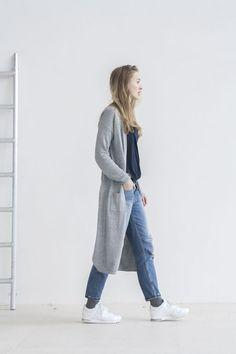 Outfit | grey cardigan (via Bloglovin.com )