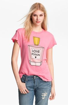 Cute trendy tee for a casual weekend style Wildfox 'Love Potion' Graphic Tee available at Nordstrom http://shop.nordstrom.com/s/wildfox-love-potion-graphic-tee/3455550?origin=category=0==510