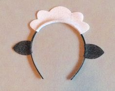 10 sheep lamb ears headband birthday party favors by Partyears