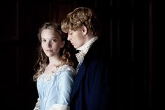Freddie Fox and Tamzin Merchant in The Mystery of Edwin Drood (2012)