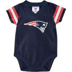 Patriots Baby Jersey Onesie