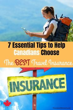 Reviews of the best travel medical insurance for Canadians, including tips for choosing the right travel medical policy for you! #quotes #tips #best #medical #forcruise #canadian Vacation Deals, Travel Deals, Travel Destinations, Medical Travel Insurance, Life Insurance, Health Insurance, Canadian Travel, Canadian Food, World Travel Guide