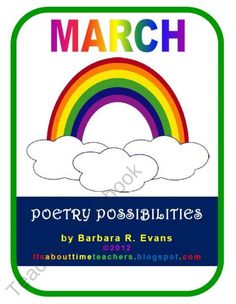 Poetry Possibilities for March product from Its-About-Time-Teachers on TeachersNotebook.com