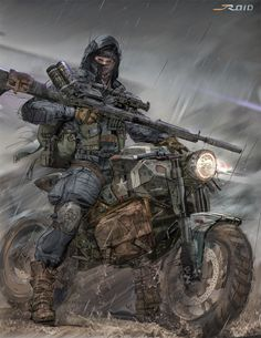 Concept Art World — Check out this Sniper concept sketch by Jordan...
