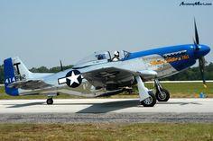 "1957 North American P-51D Mustang ""Slender, Tender & Tall"""