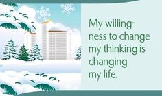 """spiritbearwellness: """"My willingness to change my thinking is changing my life. ~ Louise L. Hay """""""