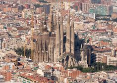 """design-related: """"Antoni Gaudi's Sagrada Família Basílica, in Barcelona, Spain, may at last be completed—by 2026, more than 140 years after construction was begun in 1882. """""""