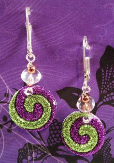 Fun Whimsical Spooky Halloween earrings  by RockinRobinsBling, $5.00