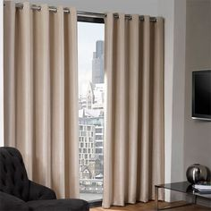 Finish your rooms in style with the Eco Logan Thermal Blackout Eyelet Lined Curtains. These curtains are crafted from a soft 100% polyester material that is easy to care for as well as affordable, and come available in a fabulous range of colours and sizes so you can find the perfect addition to your existing home decor.