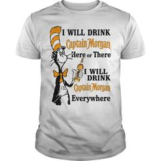 Shop Dr Seuss I will drink Don Julio here or there custom made just for you. Available on many styles, sizes, and colors. Designed by fierdossefeax Sweater Shirt, V Neck T Shirt, Hoodie, Tee Shop, Captain Morgan, Shirt Store, Crown Royal, Funny Tshirts, Custom Shirts