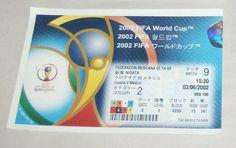2002 FIFA KOREA JAPAN WORLD CUP SOCCER MATCH 9 CROATIA VS MEXICO TICKET STUB   | eBay