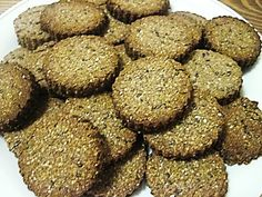 Chia krekry Dog Food Recipes, Paleo, Cookies, Chocolate, Fit, Biscuits, Crack Crackers, Schokolade, Beach Wrap
