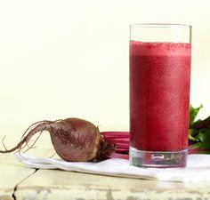 Beet, Strawberry, Cranberry Smoothie   Vitamix