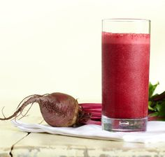 Rote Bete-Erdbeer-Cranberry-Smoothie   Vitamix