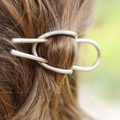 silver hair cuff everyday!