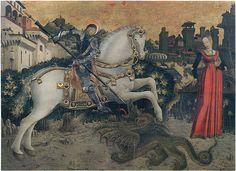 San Giorgio e la principessa - Antonio Cicognara (Pinacoteca Tosio Martinengo (Brescia)