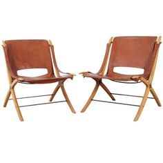 pair of ax chairs.