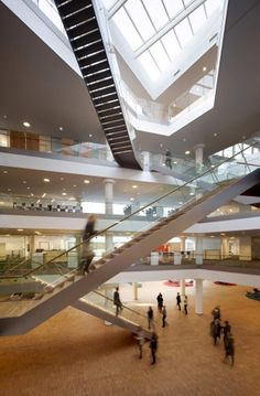 KPMG Headquarters / 3XN Architects- (office space sectional quality)
