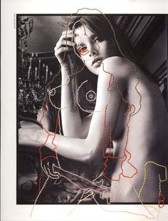 Porn sewn on Valentino Advert (two sided), 2011.jpg