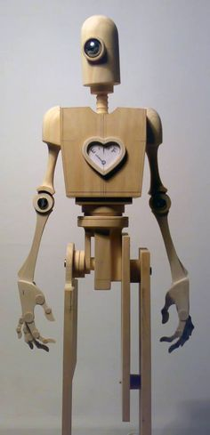Robot sculpture.