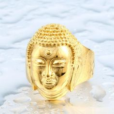 Love our #Vibes! http://mindfulbohemianshop.com/products/2016-buddha-head-bless-ring-316l-stainless-steel-buddhism-jewelry-wholesale-price-br8-076?utm_campaign=social_autopilot&utm_source=pin&utm_medium=pin
