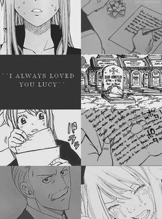 Lucy and her father - I cried at this part. ;_; It was just so heartbreaking and sad. And it makes it even worse because she was gone for 7 years, trapped. I was crying and screaming, pounding on the floor, because in a sense, she was in a coma.