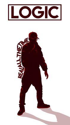 Listen to every Logic track @ Iomoio Logic Rapper Wallpaper, Rapper Wallpaper Iphone, Rap Wallpaper, Logic Lyrics, Logic Music, Logic Art, Young Sinatra, Love And Logic, Rapper Art