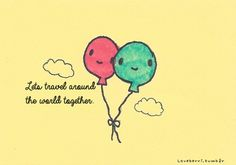 Group of: Travel the world together ♡ | Via Tumblr | We Heart It