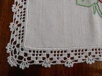 Crochet Border Patterns, Crochet Lace Edging, Crochet Baby, Filet Crochet, Crochet Braids, Doilies, Needlework, Crochet Necklace, Crochet Dishcloths