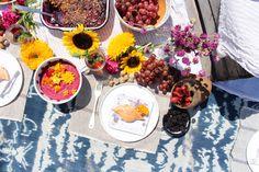 Eskayel Textile Beach Vibes - Use textiles to create a perfect beach oasis! Beach Party, Textile Design, Oasis, Textiles, Create, Inspiration, Food, Biblical Inspiration, Meal