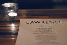 Lawrence   The Run-In