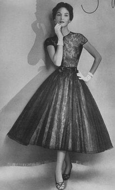 Harper's Bazaar, 1953.