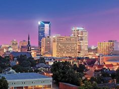 Lexington, Kentucky skyline