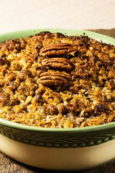 Skinny Sweet Potato Casserole with Brown Sugar Pecan Topping Recipe - Low Calorie, Low Fat, and Gluten Free
