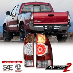 Factory Led Style 2005 2017 Toyota Tacoma All Model Rear Tail Lights