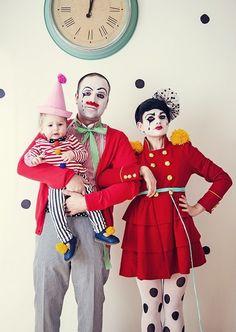 gruppenkostüm fasching verkleidung ideen zirkus karneval kostüm