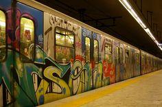 Wikipedia:Featured picture candidates/Rome subway graffiti ...