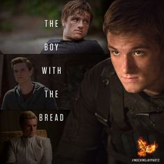 The baker's son evolves into a key member of the Revolution… Peeta Mellark. #MockingjayPart2