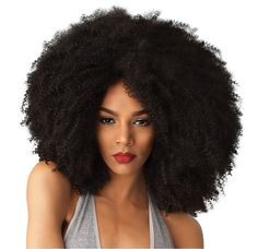 Color Shown: 1B NATURAL TEXTURE, NATURAL STYLE. Go big and beautiful with our collection of voluminous naturally curly textures designed to match and blend perfectly with your own hair.Whether you're